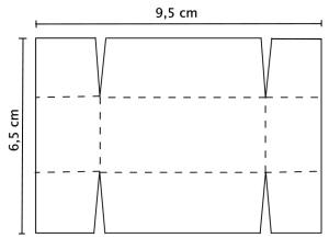 Taschentuch Skizze Inlay